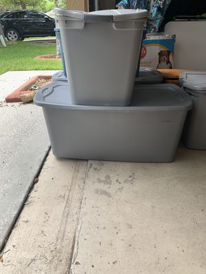 Total of 8 containers over 3 thousands pieces with lots of name brand clothes for Sale in Tampa, FL