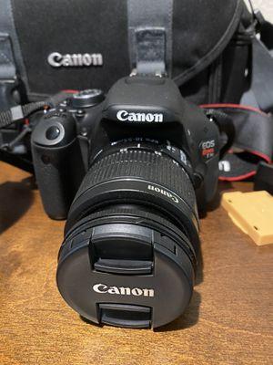 Canon EOS Rebel T3i / EOS 600D 18.0MP Digital SLR Camera - Black (Kit w/ EF-S IS Like New for Sale in Malvern, PA