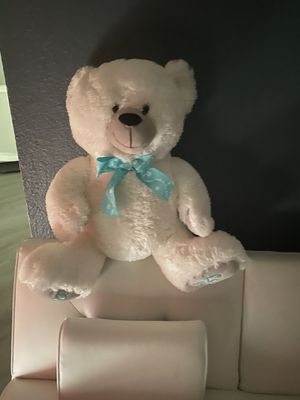 White teddy bear for Sale in Houston, TX