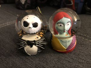The Nightmare Before Christmas Mini Snow Globes for Sale in San Diego, CA