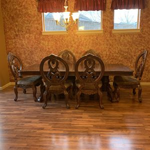 Dining Table 6 Chairs for Sale in Ridgefield, WA