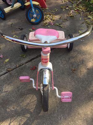 Radio Flyer kids pink n white bike for Sale in Detroit, MI