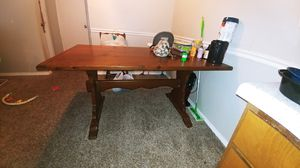 Solid Wood Dining Table for Sale in Tulsa, OK