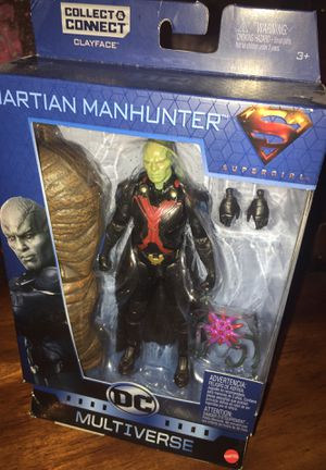 MARTIAN MANHUNTER DC COMICS MULTIVERSE ACTION FIGURE for Sale in Las Vegas, NV