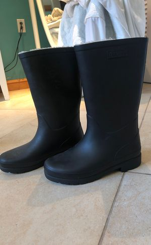 Tretorn Black Fur Lined Rain Boots for Sale in Oakland Park, FL