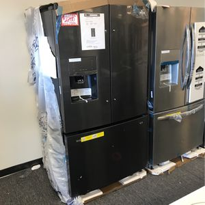 NEW SCRATCH AND DENT KITCHEN AID STAINLESS STEEL FRENCH DOORS FRIDGE WITH MANUFACTURED WARRANTY for Sale in Laurel, MD