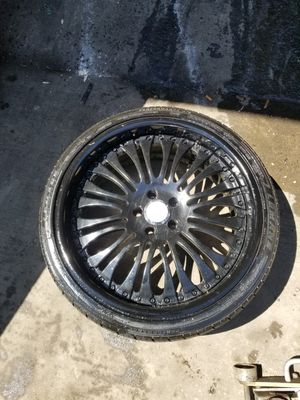Asanti 20 inch rims and tires for Sale in Fort Washington, MD