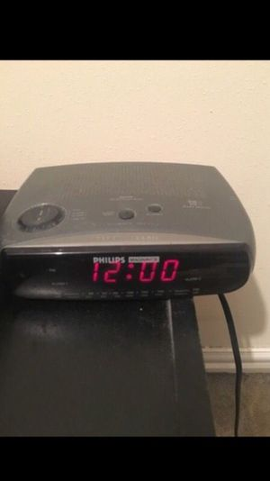 Alarm clock radio for Sale in Houston, TX