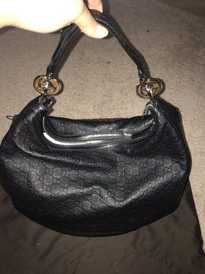 Gucci Black Guccissima Leather GG Twins Hobo Bag for Sale in Birmingham, MI