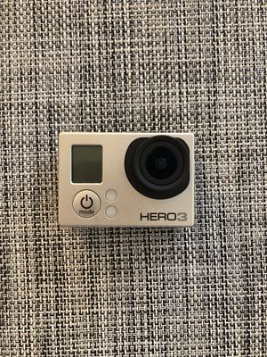 GoPro Hero 3 w/ cases and harnesses for Sale in Orem, UT