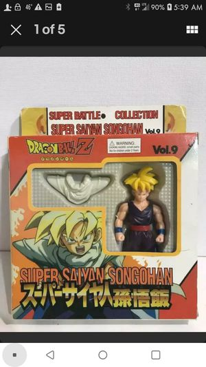 DRAGONBALL Z Super Battle Collection Figure Super Saiyan SON GOHAN Vol 9 New Vintage Collectible Toy for Sale in Kingsport, TN