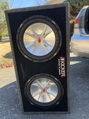 Sub Kicker 1200watt for Sale in Rockville, MD