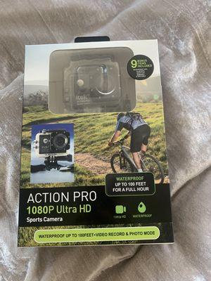 Itek Action Pro 1080P Ultra HD Waterproof Sports Camera for Sale in San Diego, CA