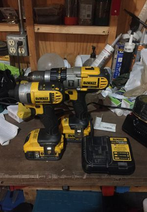 DEWALT IMPACT DRIVER AND HAMMER DRILL for Sale in Des Moines, IA