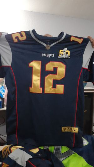 Patriots super bowl jersey for Sale in Elk Grove, CA