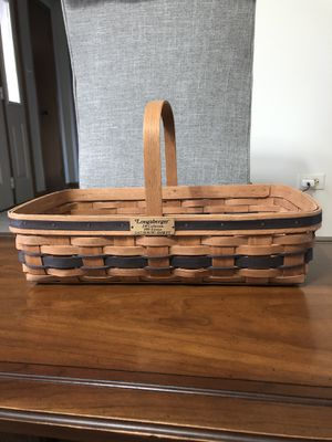 Longaberger Gathering Basket JW Collection 1988 Edition for Sale in Orland Park, IL