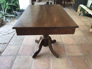 Kitchen area table. Extension pulls out for Sale in Phoenix, AZ