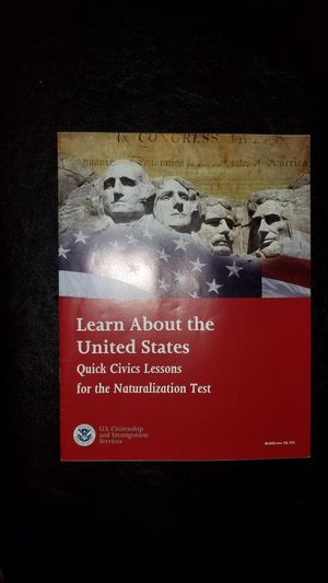 USA Citizenship Test Prep Material for Sale in Hillsboro, OR
