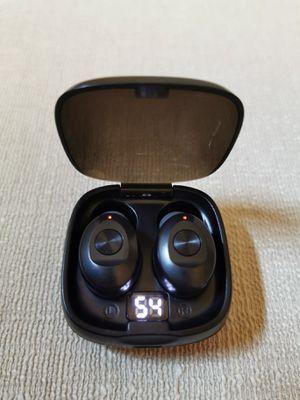 Bluetooth 5.0 True Wireless Earbuds HIFI Sound Sport Headset Earphone for Sale in Brea, CA
