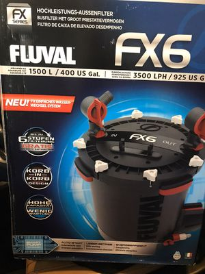 New Fluval FX6 for Sale in Chicago, IL