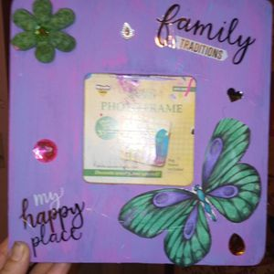 Butterfly Photo Frame for Sale in Batesburg-Leesville, SC