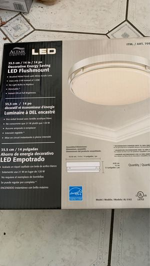 LED energy saving lighting fixture for Sale in Rancho Cucamonga, CA