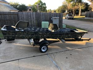 JON BOAT ! Special for everything ! for Sale in Katy, TX