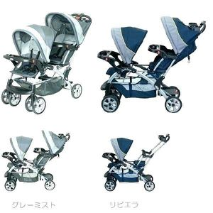 Graco Double/Tandem stroller for Sale in Seattle, WA