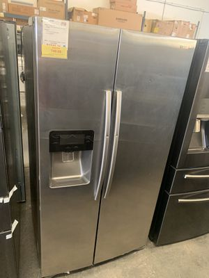 Samsung Stainless Steel side by side refrigerator for Sale in Tampa, FL