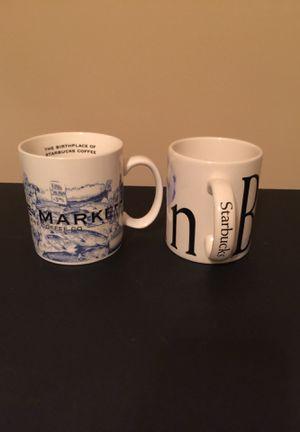 2 Large Starbucks Mugs Cups Pike Place / Bahrain for Sale in Murfreesboro, TN