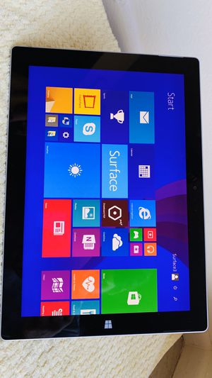 Microsoft Surface 3 tablet 64GB SSD same size like Apple iPad Pro for Sale in Stanton, CA