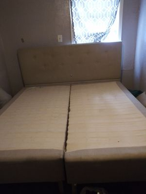King size bed frame for Sale in Dallas, TX