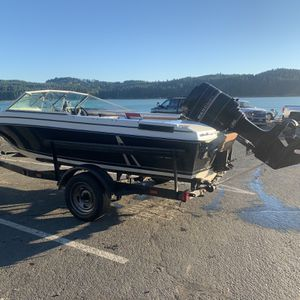 17 Foot Open Bow 90hp Outboard for Sale in Sherwood, OR