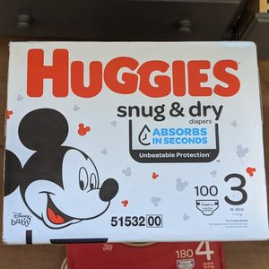 Huggies Size 3 for Sale in Anaheim, CA