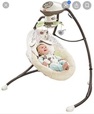 Baby swing for Sale in Logan Township, NJ