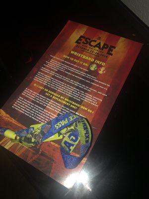 ESCAPE 2 Day GA ticket for sale for Sale in Sacramento, CA