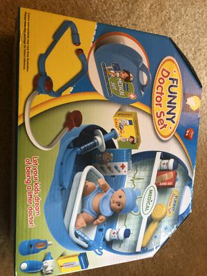 Funny doctor set 16 pieces for Sale in Hilliard, OH