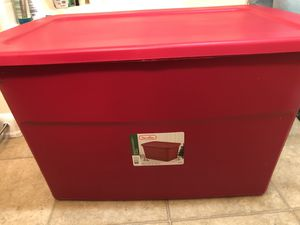 Red Sterilite Storage Container 30 gallons for Sale in Anaheim, CA