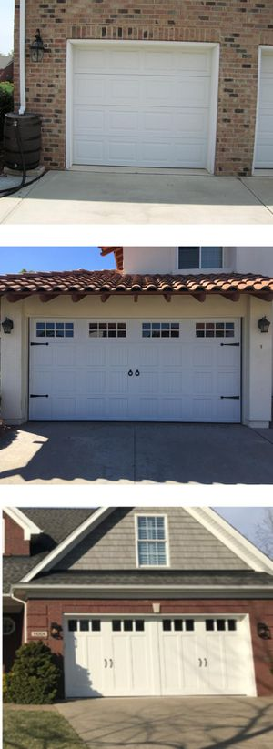 New Garage Door Single Car and Double Car for Sale in San Diego, CA
