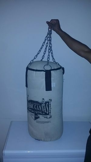 Classic canvas punching bag for Sale in Plano, TX