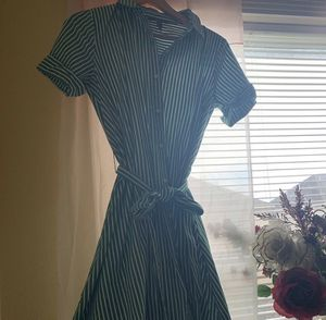 Forever 21 Vintage T-Shirt Dress (green and white) for Sale in Humble, TX