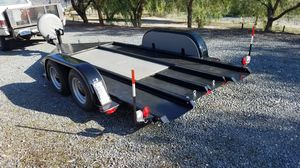 Custom 16' low profile car trailer for Sale in Norco, CA