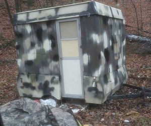 Pop up camper converted to solid sides for Sale in Martinsville, IN