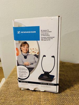 Wireless tv headphones. Tv listening system by Sennheiser for Sale in undefined