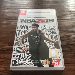 Nintendo Switch NBA 2k19 for Sale in Silver Spring,  MD