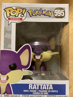 Funko Pop! #595 Pokémon Rattata Fierce Magical Rodent for Sale in Seattle,  WA