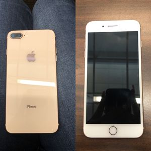iPhone 8pluse T-Mobile perfect condition unlocked for Sale in Houston, TX