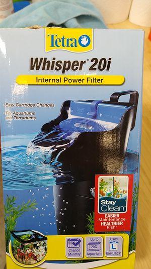 Tetra whisper 20i power filter for Sale in Murfreesboro, TN