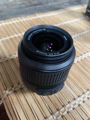 Nikon DSLR camera lens for Sale in Detroit, MI