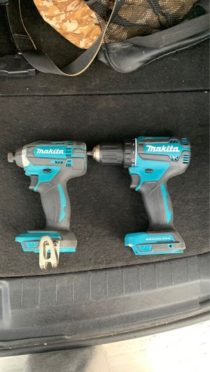 Makita drill driver and drill no batteries no charger for Sale in Wheat Ridge, CO
